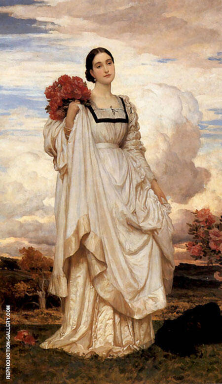 The Countess Brownlow c1879 By Frederick Lord Leighton