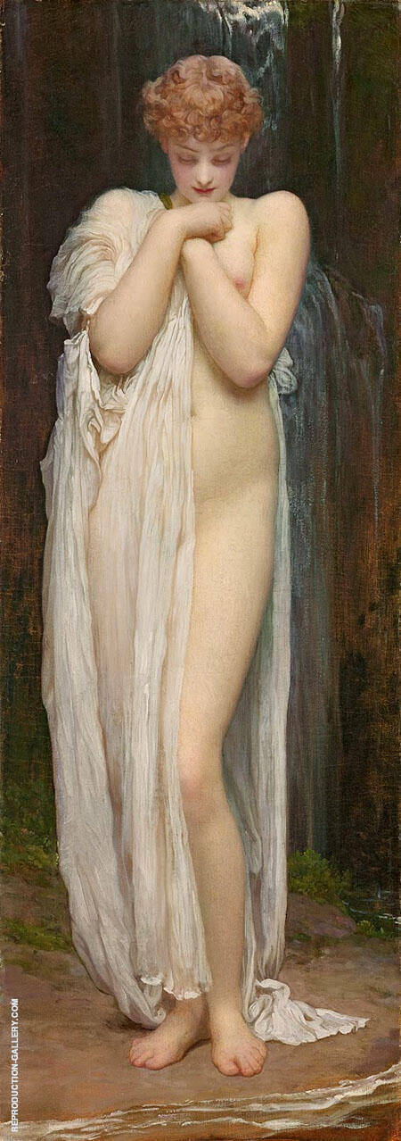 Crenaia c1880 By Frederick Lord Leighton