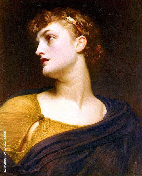 Antigone c1882 By Frederick Lord Leighton
