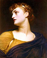 Antigone c1882 By Frederick Lord Leighton