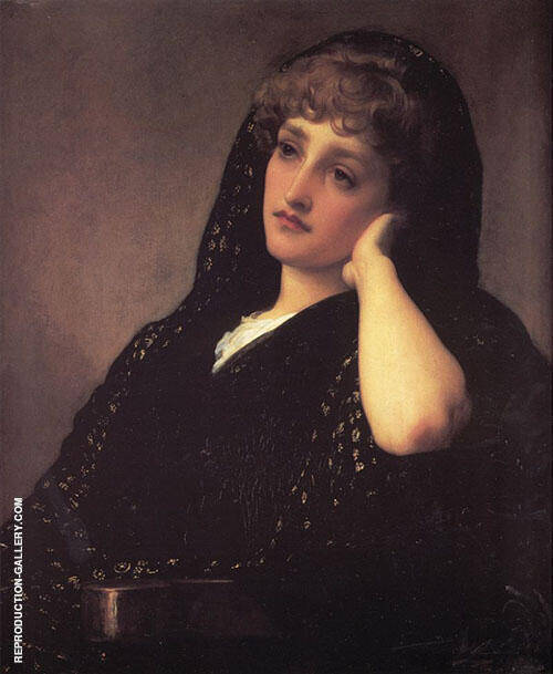 Memories c1883 Painting By Frederick Lord Leighton - Reproduction Gallery