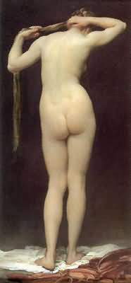 Standing Nude Figure Seen from Behind 1880 By Frederick Lord Leighton