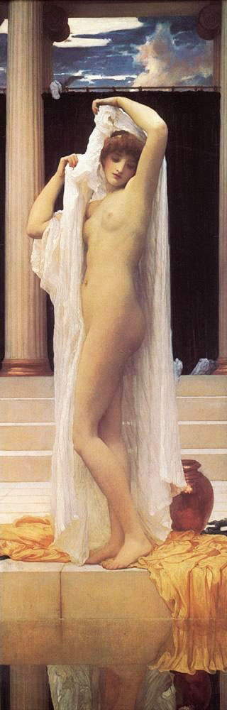 The Bath of Psyche c1889 By Frederick Lord Leighton