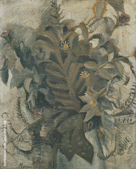 Flowers 1913 Painting By Georgio Morandi - Reproduction Gallery
