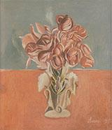Roses 1917 By Giorgio Morandi