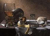 Still Life Breakfast Piece By Pieter Claesz
