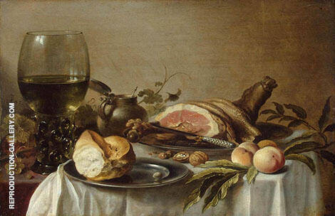 Still Life 1647 By Pieter Claesz