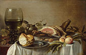 Still Life 1647 By Pieter Claesz