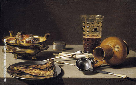 Still Life 1627 By Pieter Claesz