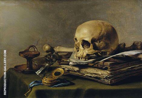 Vanitas Still Life 1630 By Pieter Claesz