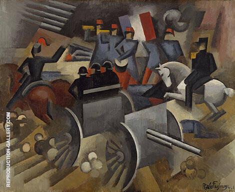 Artillery 1911 By Roger de La Fresnaye