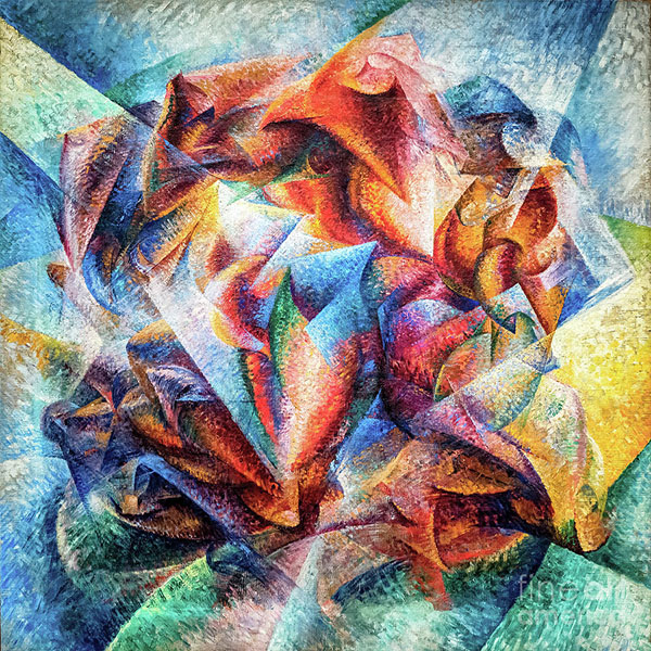 Oil Painting Reproductions of Umberto Boccioni