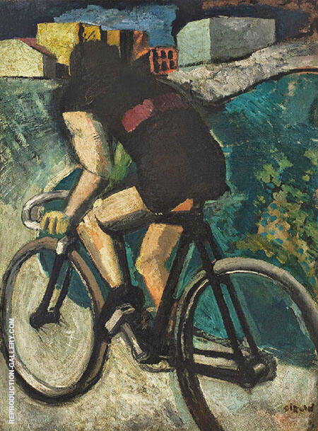 The Cyclist By Mario Sironi