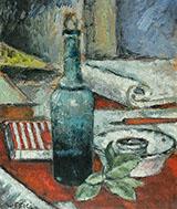 Bottiglia con Foglie By Ardengo Soffici