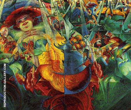 Laughter By Umberto Boccioni