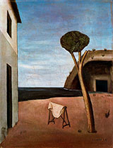A Pine by The Sea 1921 By Carlo Carra