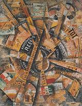 Interventionist Demonstrstion 1914 By Carlo Carra