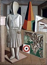 La Musa Metafisica 1917 By Carlo Carra