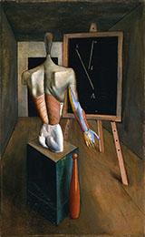 Solitudine 1917 By Carlo Carra