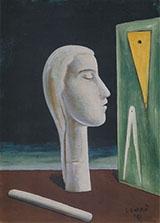 The Engineeris Mistress 1921 By Carlo Carra