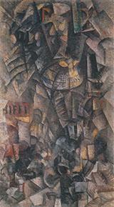 The Gallgria 1912 By Carlo Carra