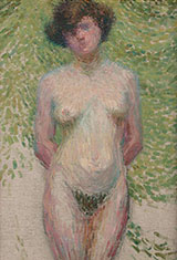 Nude By Charles Angrand