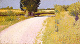 Path in The Country By Charles Angrand