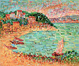 The Small Port By Charles Angrand