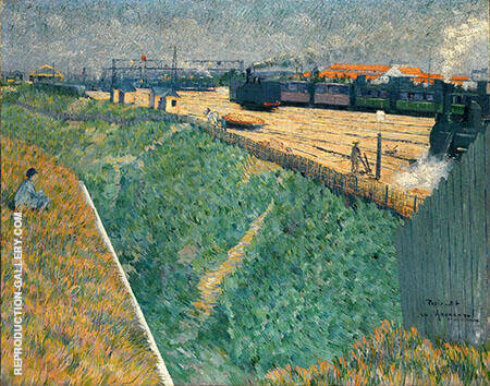 The Western Railway at its Exit from Paris By Charles Angrand