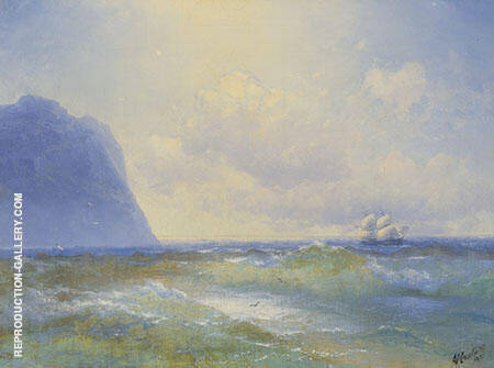 Seascape I Painting By Ivan Aivazovsky - Reproduction Gallery