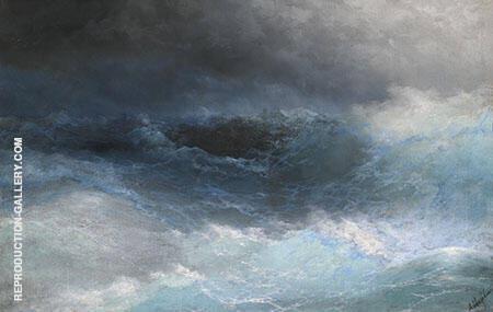 Stormy Sea By Ivan Aivazovsky