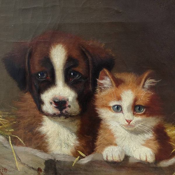 Oil Painting Reproductions of Sidney Lawrence Brackett