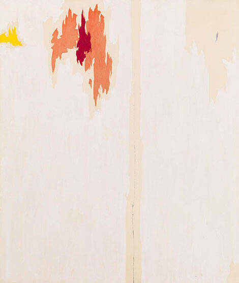 Untitled 1953 -2 By Clyfford Still