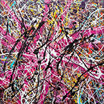 Oil Painting Reproductions of Jackson Pollock (Inspired By)