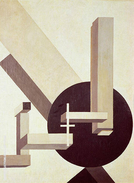Proun 10 By El Lissitzky