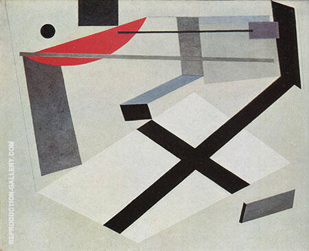 Proun 30 t 1920 By El Lissitzky - Oil Paintings & Art Reproductions - Reproduction Gallery