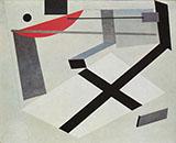 Proun 30 t 1920 By El Lissitzky