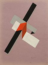 Proun 1922 By El Lissitzky