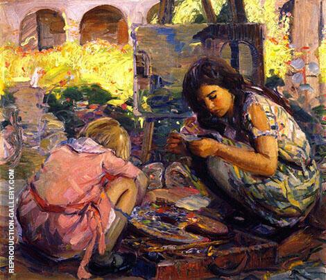 Curiousity By Joseph Kleitsch