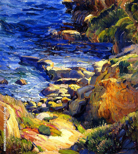 Fisherman's Cove By Joseph Kleitsch