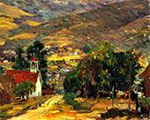 Foothill Village By Joseph Kleitsch