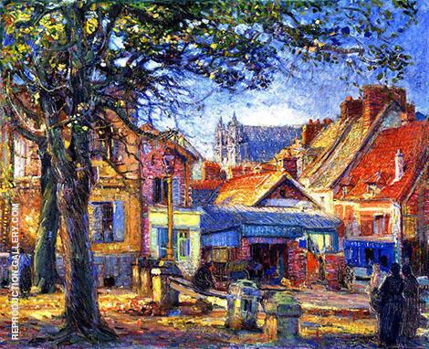 Normandie, Vernon By Joseph Kleitsch