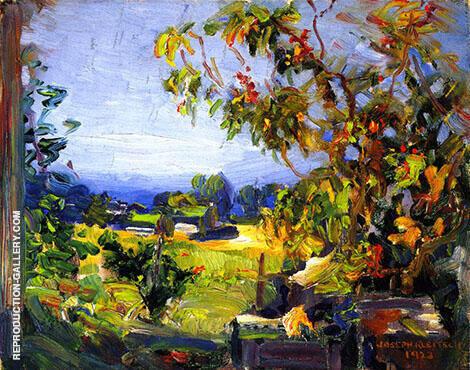 Our Garden By Joseph Kleitsch