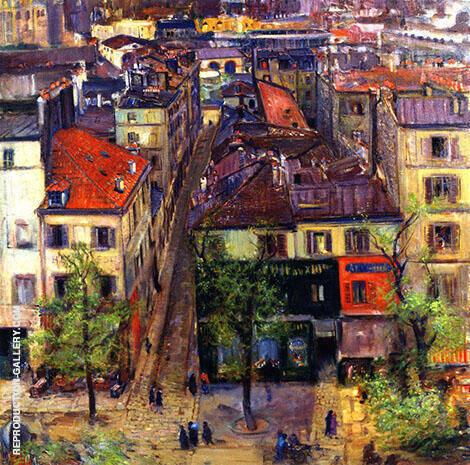 Paris Rooftops By Joseph Kleitsch