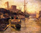 The Chicago River By Joseph Kleitsch