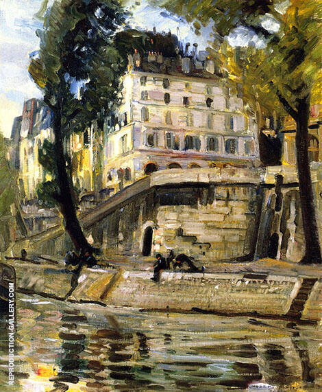 The Seine Paris By Joseph Kleitsch