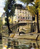 The Seine Paris By Joseph Kleitsch