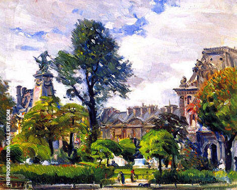 Tuilieries Gardens By Joseph Kleitsch