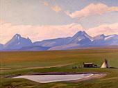 Home of the Blackfeet 1938 By Maynard Dixon