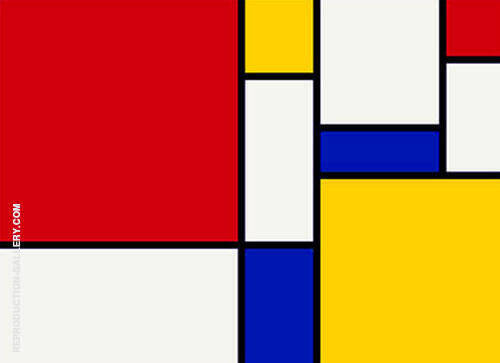 Untitled A Painting By Piet Mondrian - Reproduction Gallery